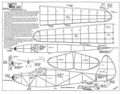 Ace 32in model airplane plan