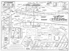 Ace of Diamonds model airplane plan