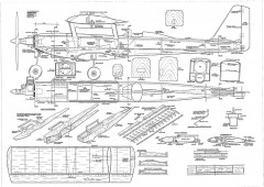 Acro-bat model airplane plan