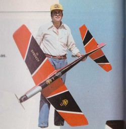 Acrobas III model airplane plan