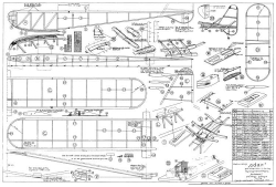 Adar model airplane plan