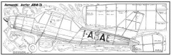 Aermacchi  Am-3 model airplane plan