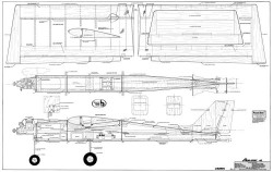 Aero-Sport 40 model airplane plan