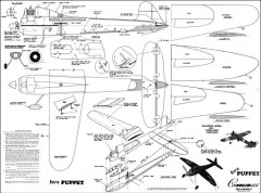 Aero Puppet CL 24in model airplane plan