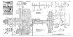 Aero Commander model airplane plan