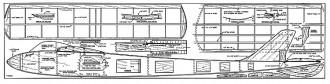 Aerogull plan model airplane plan