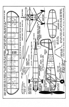 AeroncaDefender model airplane plan