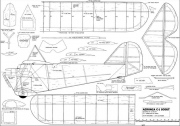 Aeronca C1 Scout 58in model airplane plan