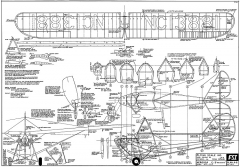 Aeronca C3 Collegiate-DPlumpe FSI A-6 model airplane plan
