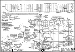 Aeronca C3 Collegiate model airplane plan