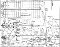 Aeronca C3 RC 54in model airplane plan