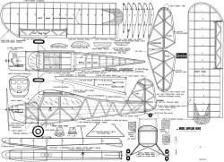 Aeronca Champ MAN 48in model airplane plan