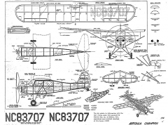 Aeronca Champion Whitman model airplane plan