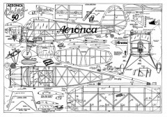 Aeronca Chief 50 model airplane plan