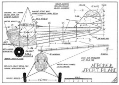 Aeronca Gas Model 1940 model airplane plan
