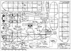 Aeronca K 26in model airplane plan