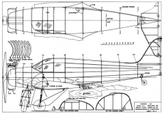 Aeronca LB-RC Sportsman 11-75 model airplane plan