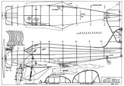 Aeronca LB-RC Sportsman 11-75 model airplane plan