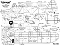 Aeronca Tandem 1942 model airplane plan