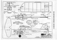 Aeronca profile .020 model airplane plan