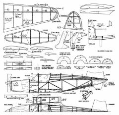Aeroneer 24in model airplane plan