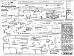 Air-O-Jet model airplane plan