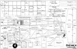 Air Cabin 65in model airplane plan
