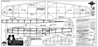 Airbonita model airplane plan