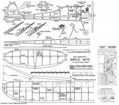 Airflo Mite model airplane plan