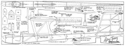 Airy Fairy model airplane plan