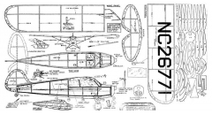 Akron Funk model airplane plan