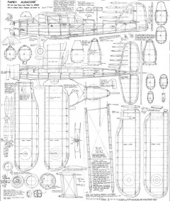 Albacore model airplane plan