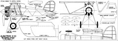 Albatros D-XI-MAN-09-47 model airplane plan