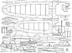Alkie IV 30in model airplane plan
