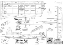 All American Senior CL 51in model airplane plan