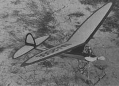 All Balsa Gas Model model airplane plan