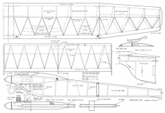 Amazoom 400 model airplane plan