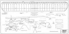 American Eagle Eaglet model airplane plan