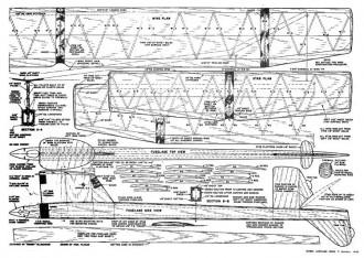 Americano model airplane plan
