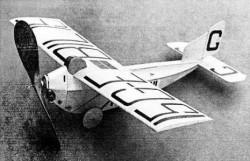 Anec 1A model airplane plan