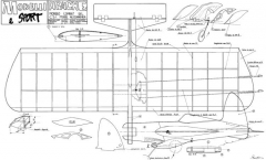 Apache 2 model airplane plan