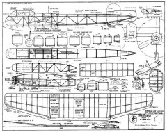 Arado Ar240 model airplane plan