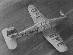 Arado AR 96V model airplane plan