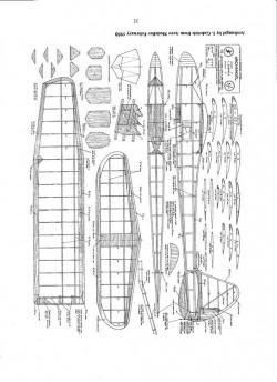 Archangel model airplane plan