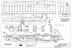 Arcturus model airplane plan