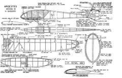 Argestes model airplane plan
