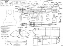 Ariel full model airplane plan