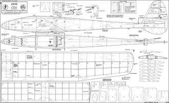 Aries Sloper 72in model airplane plan