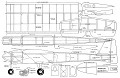 Aristo-Cat MAN-1964 model airplane plan