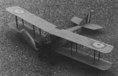 Armstrong Whitworth F.K.8 model airplane plan